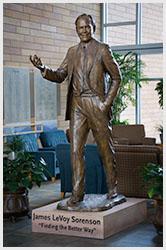 James Sorenson Bronze